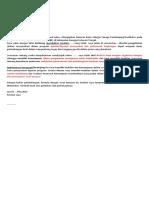 Surat Lamaran Dinas Sosial