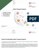 GIZ SUTP RL Tools for Sustainable Urban Transport En