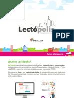 Presentacion Lectopolis Santillana 2018