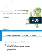 Generation of Electric Energy