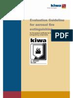 Evaluation Guideline for Aerosol Ext