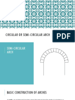 Circular or Semi-circular Arch