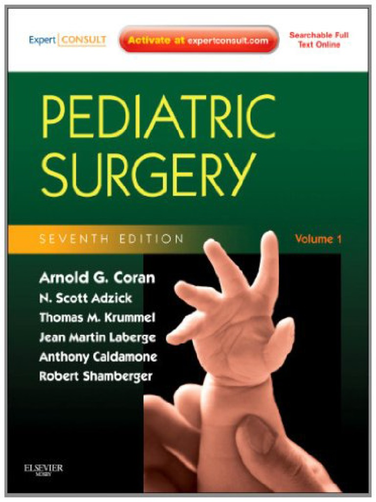 Pediatric Surgery Digest Pdf
