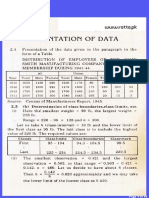 Statistics Ch 2 Exercise solution