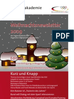 Trainerakademie Newsletter 12 2009