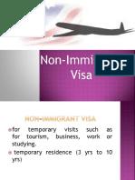 Non Immigrant Visa