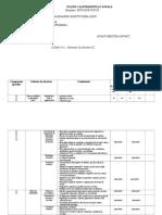 Plan Calendaristic Ed. Fizica La Cls. a v A