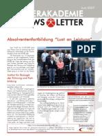 Newsletter 06 2007