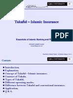 11. Takaful Islamic Insurance