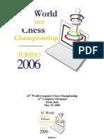 14th World Computer Chess Championship Torino 2006