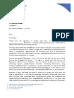 Engagement Letter