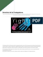 Derechos de Los Trabajadores - Derechos Laborales