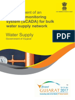 Real Time Monitoring System for Bulk Water Supply Network