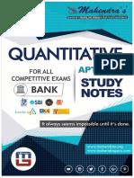 Study Notes Maths Bank Eng 08-03-18