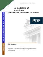 Dinamikus Modellezés a Tápanyag Hiányos Szennyvíz Kezelésében