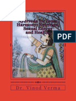 Ayurveda for Inner Harmony – Nutrition, Sexual Energy and Healing