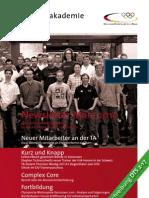 Trainerakademie Newsletter 03 2010