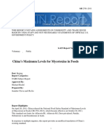 Maximum Levels of Mycotoxins in Foods_Beijing_China - Peoples Republic Of_12!29!2014