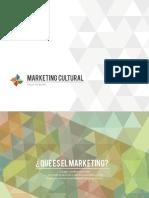 Marketing Cultural - Sesión 1 - Fundamentos Marketing Cultural