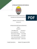 Mapa Conceptual Infraestructura Del Comercio Electronico