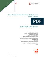 Modulo I - Genero Discursivo - Sesiones