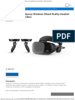 Samsung HMD Odyssey Windows Mixed Reality Headset Con Controladores de Movimien
