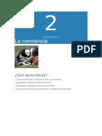 2º ASISE-La Consciencia