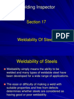 17 Weldability of Steels