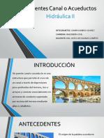 Acueductos o Puente Canal