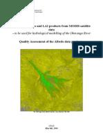 ODMP Quality Assessment Albedo