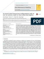 An interval-valued hesitant fuzzy multigranulation rough set over two universes model for steam turbine fault diagnosis