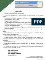 Texto - No Reino Da Bicharada