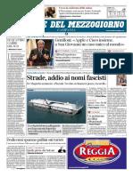 Corriere Del Mezzogiorno Campania 27 Gennaio 2018