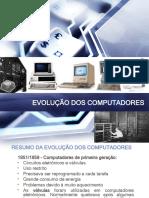 LEITURA 1 - Evolução Dos Computadores - Dispositivos IO