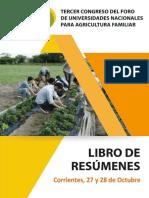 Libro de Resumenes III Congreso Funaf 2016