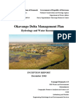 ODMP hydrology and water resources Inception report