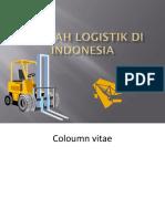 Sejarah Logistik Di Indonesia