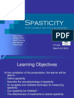 Spasticity Lit. Reveiw 2010