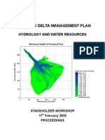 ODMP Stakeholder Workshop Report hydrological model