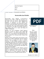 Biography b. j. Habibie