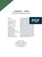 18Cadernos IPPUR - Ano XII, n2, ago-dez 1998.pdf