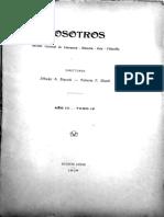 19090500 - Nosotros (Año III, Tomo 4, Nro 20-21) - 'La Evolucion Organica de La Musica' (Scan Propio)