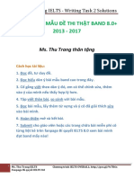 GIẢI 30 TASK 2 ESSAYS BAND 8+ Bí quyết IELTS 8.0