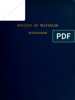 History of Waterloo Wisconsin