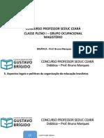 5. Aspectos legais e políticos da organização da educação brasileira.