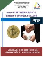 Manual de Normas y Procedimientos Para La Emisión de Pagos