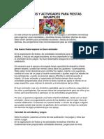 20 Juegos y actividades para fiestas infantiles.pdf