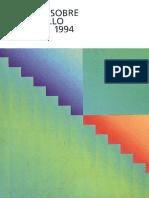 Pnud Informe 1994 Desarrollo Humano