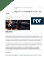 Carmona pacta para no ser imputado en vísperas del 24-M (Madrid, EL MUNDO)