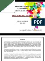 Ruta de Mejora 2017-2018_final